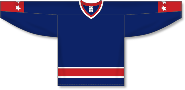 Columbus Blue Jackets Style Team Color Throwback Hockey Jersey