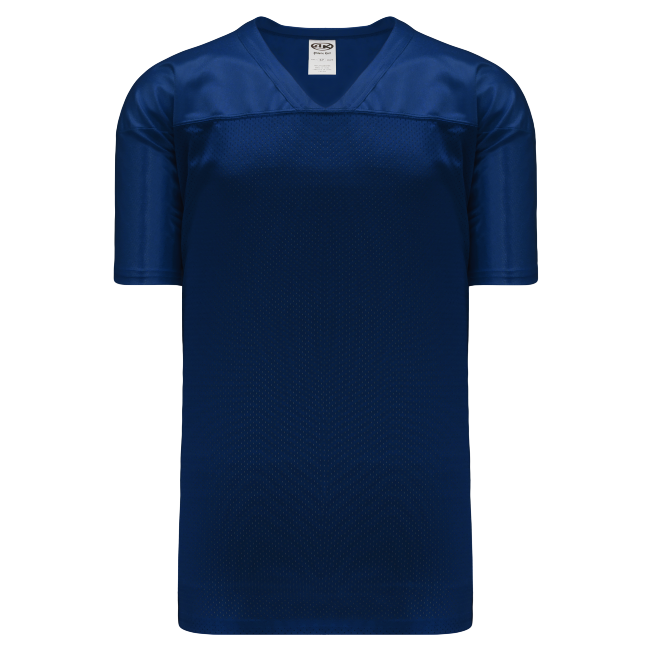 Adult F810 Blank Football Jersey - Navy