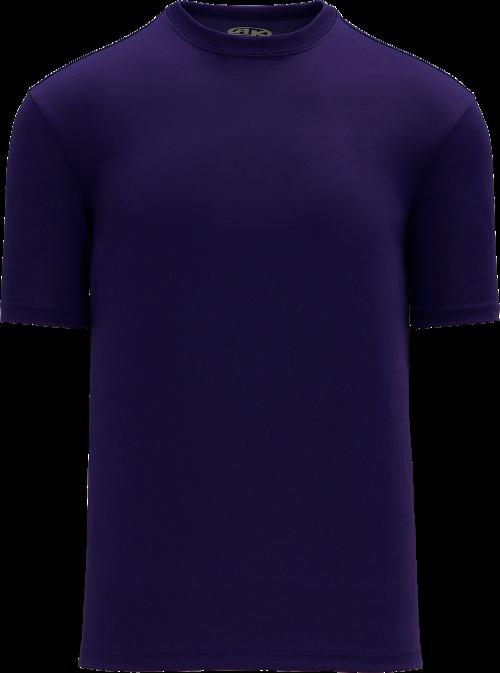 Basic Pullover Baseball Jersey - Purple