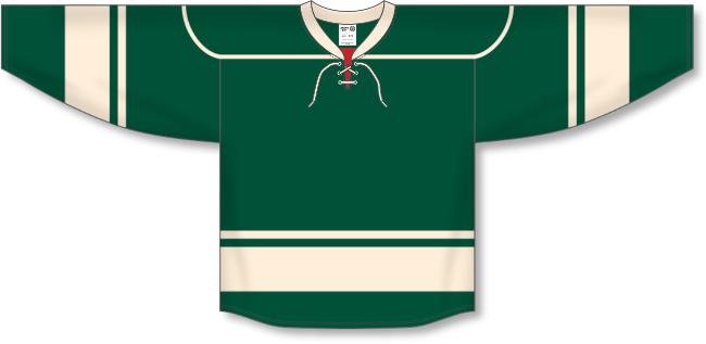 Minnesota Wild Style Alternate Throwback Hockey Jersey