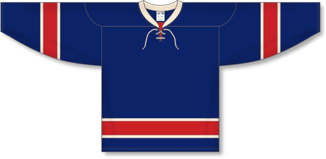 New York Rangers Style Alternate Hockey Jersey