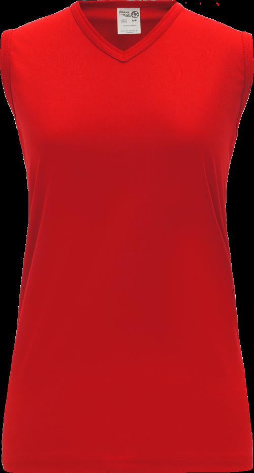 Ladies LF635L Dryflex Field Lacrosse Jersey - Red