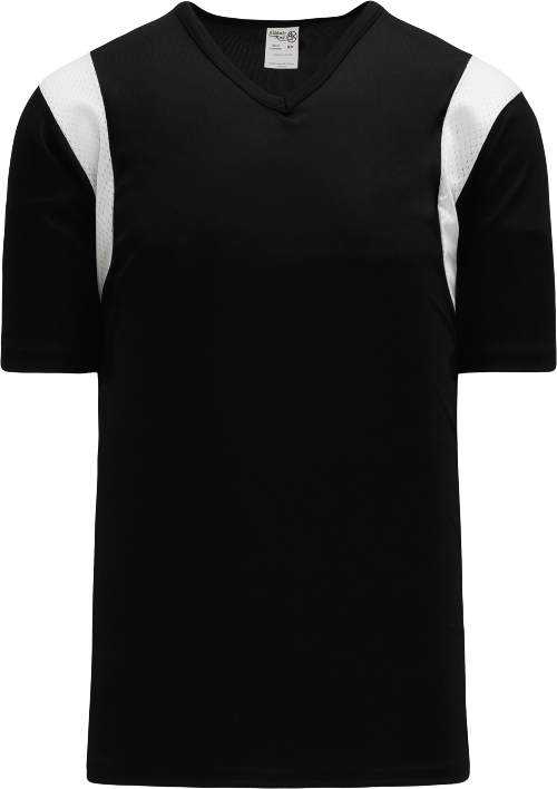 Wind Up Pullover Baseball Jersey - Black/White