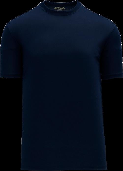 Basic Pullover Baseball Jersey - Navy