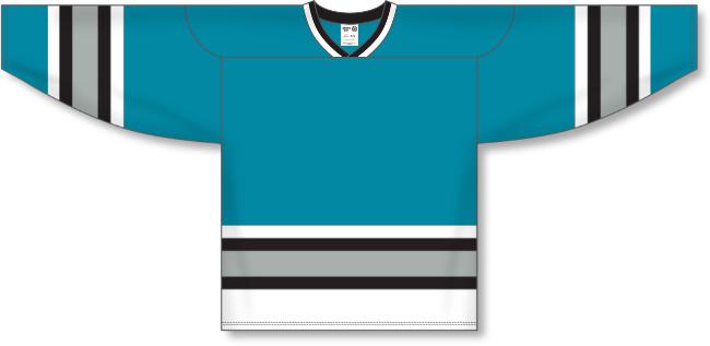 San Jose Sharks Style Team Color Throwback Hockey Jersey