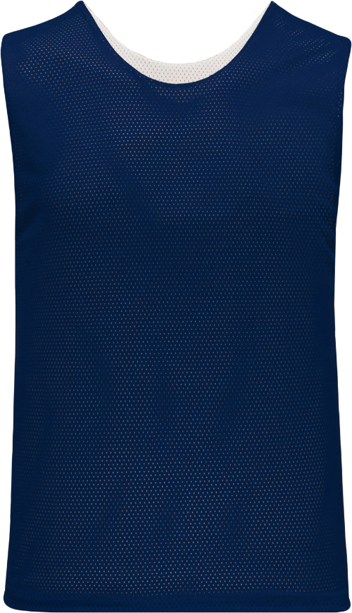 Ladies LF302 Polymesh Reversible Field Lacrosse Jersey - Navy/White
