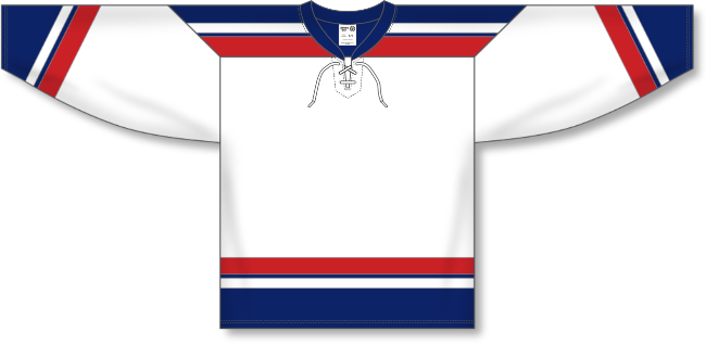 USA Hockey Style Olympics 2002 White Hockey Jersey
