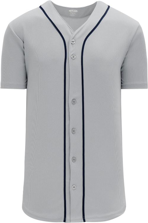 Detroit Tigers Style Full Button MLB Style Road Jersey
