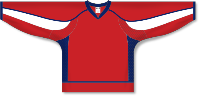 Washington Capitals Style Team Color Hockey Jersey
