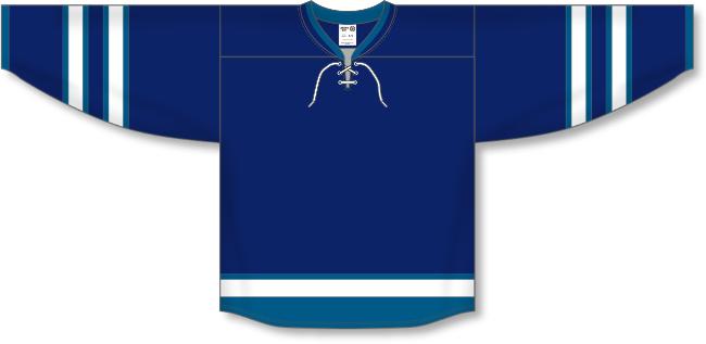 Winnipeg Jets Style Team Color Hockey Jersey