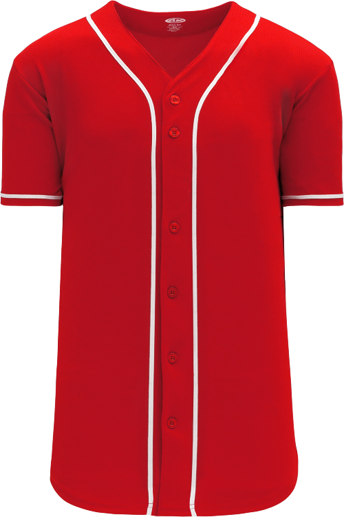 Cincinnati Reds Style Full Button MLB Style Alternate Jersey