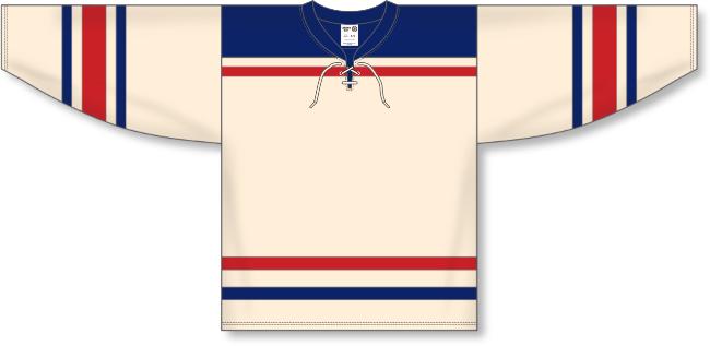 New York Rangers Style Winter Classic Hockey Jersey