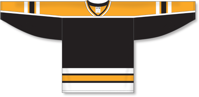 Boston Bruins Style Team Color Throwback Hockey Jersey
