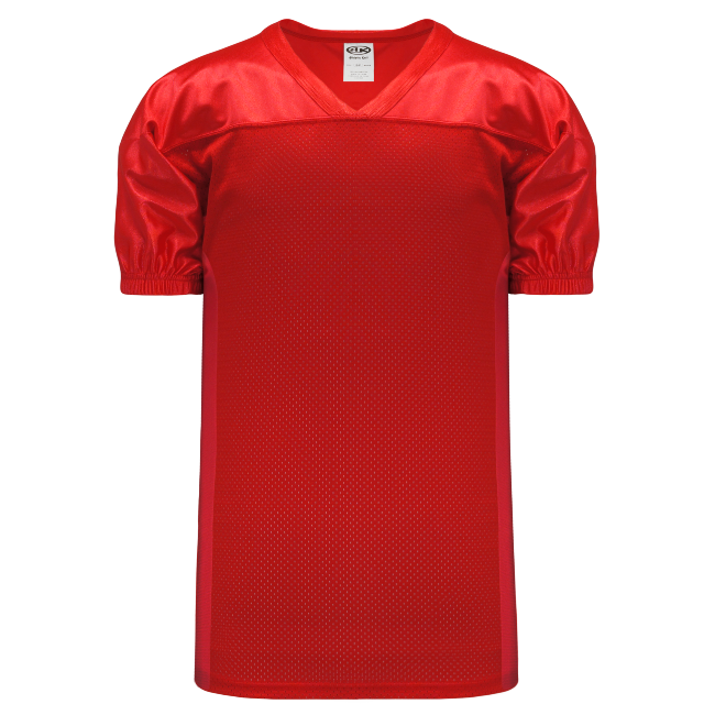 Adult F820 Blank Football Jersey - Red
