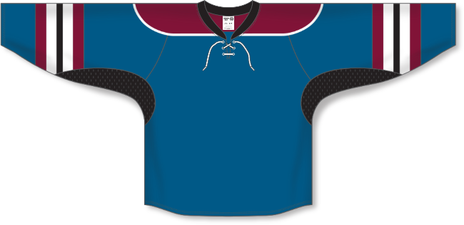 Colorado Avalanche Style Alternate Throwback Hockey Jersey