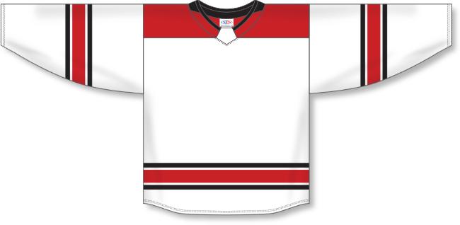 Carolina Hurricanes Style White Hockey Jersey