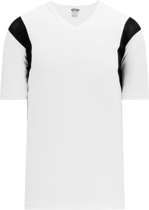 Wind Up Pullover Baseball Jersey - White/Black