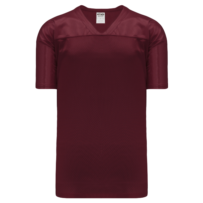 Adult F810 Blank Football Jersey - Maroon