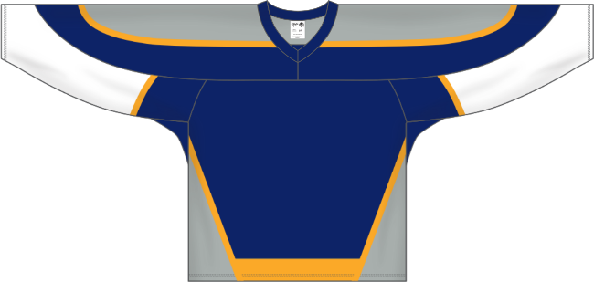 Nashville Predators Style Team Color Throwback Hockey Jersey