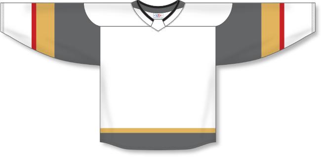 Vegas Golden Knights Style White Hockey Jersey