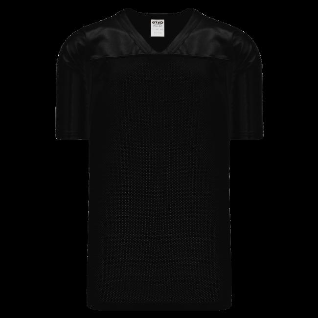 Adult F810 Blank Football Jersey - Black