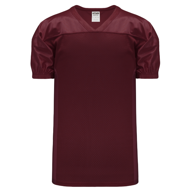 Adult F820 Blank Football Jersey - Maroon