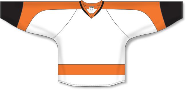 Philadelphia Flyers Style White Hockey Jersey
