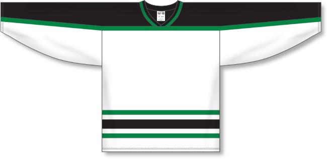 Dallas Stars Style White Throwback Hockey Jersey