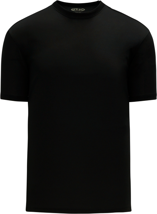 Basic Pullover Baseball Jersey - Black