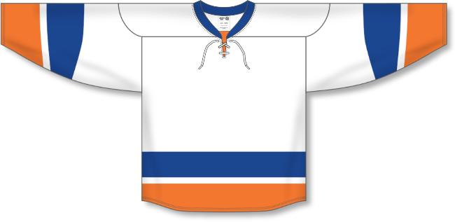 New York Islanders Style White Hockey Jersey