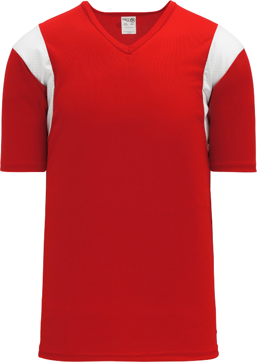 Wind Up Pullover Baseball Jersey - Red/White