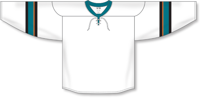 San Jose Sharks Style White Hockey Jersey