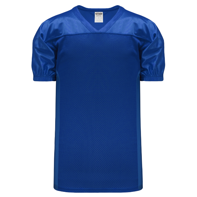 Adult F820 Blank Football Jersey - Royal Blue