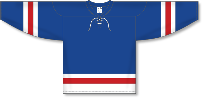 New York Rangers Style Team Color Hockey Jersey