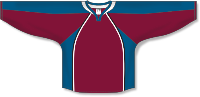 Colorado Avalanche Style Team Color Throwback Hockey Jersey