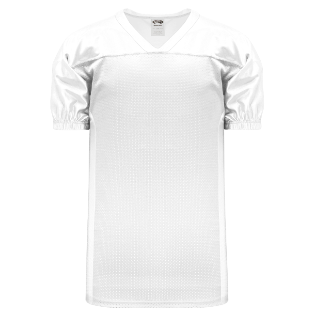 Adult F820 Blank Football Jersey - White