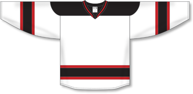 New Jersey Devils Style White Throwback Hockey Jersey