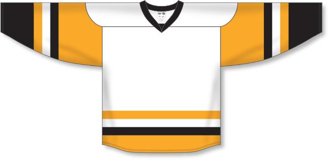 Pittsburgh Penguins Style White Hockey Jersey