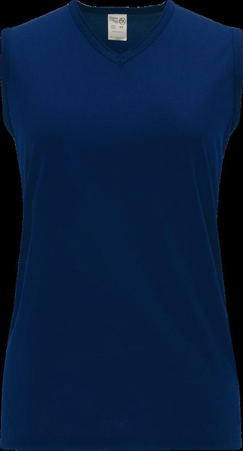 Ladies LF635L Dryflex Lacrosse Jersey - Navy Blue