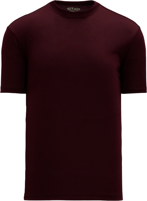 Basic Pullover Baseball Jersey - Maroon