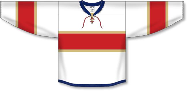 Florida Panthers Style White Hockey Jersey