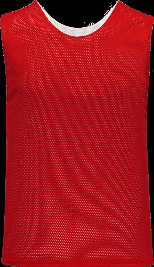Ladies LF302 Polymesh Reversible Field Lacrosse Jersey - Red/White