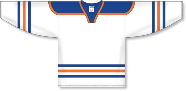 Edmonton Oilers Style White Throwback Hockey Jersey