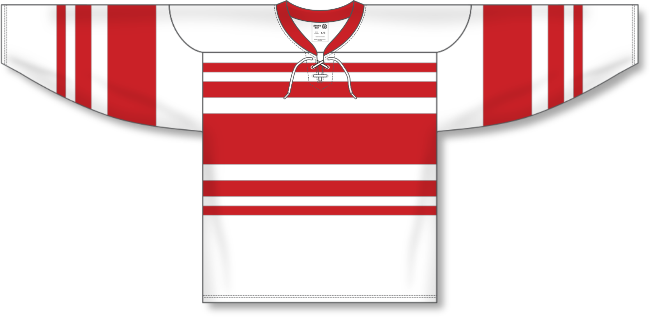 Detroit Red Wings Style White Throwback Hockey Jersey