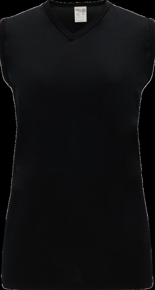 Ladies LF635L Dryflex Field Lacrosse Jersey - Black