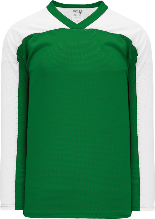 LF153 Polymesh Box Lacrosse Jersey - Kelly/White