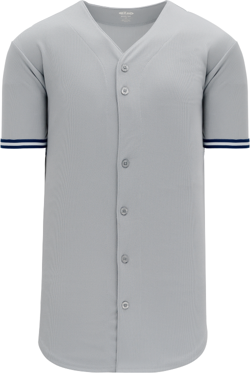 New York Yankees Style Full Button MLB Style Road Jersey