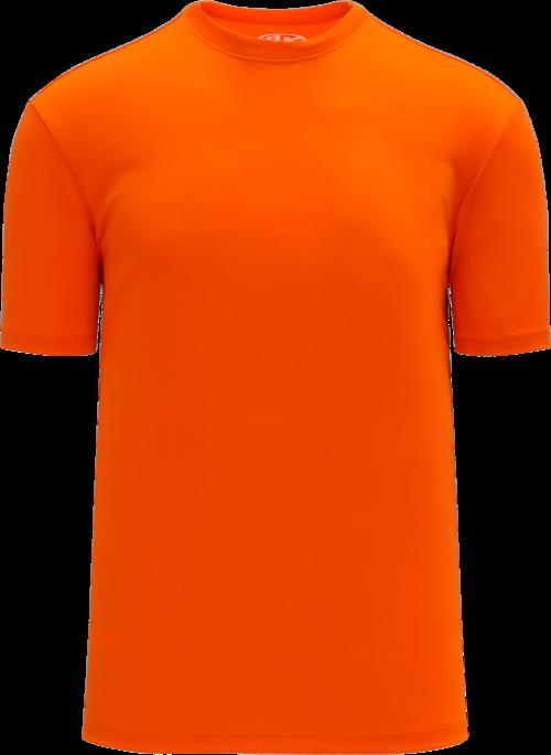 Basic Pullover Baseball Jersey - Orange