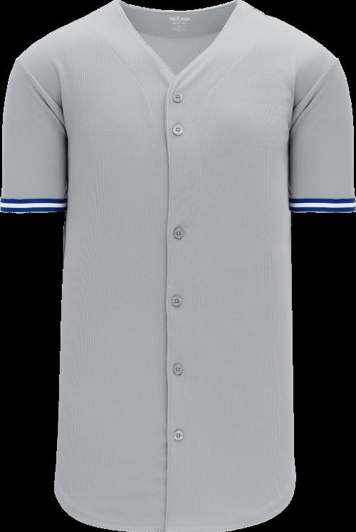 Toronto Blue Jays Style Full Button MLB Style Road Jersey