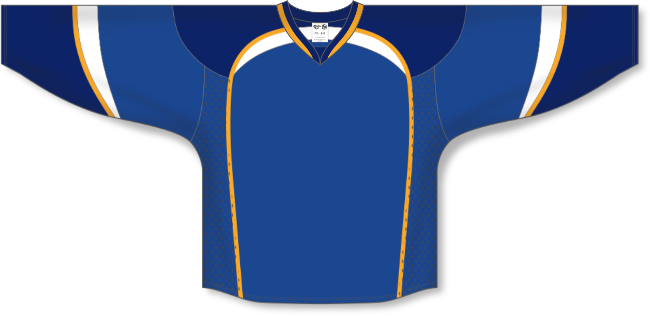 St. Louis Blues Style Team Color Throwback Hockey Jersey